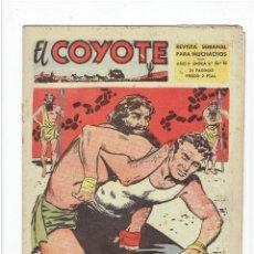 BDs: ARCHIVO * EL COYOTE (2ª ÉPOCA) Nº 10 * EDICIONES CLIPER 1954 *. Lote 270963608