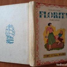 Livros de Banda Desenhada: FLORITA : TOMO XIV - EJEMPLARES DEL Nº 261 AL Nº 280. Lote 271975588