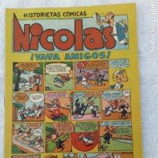Tebeos: NICOLÁS Nº 16 AÑO 1948 MUY BUEN ESTADO CLIPER. Lote 274600643