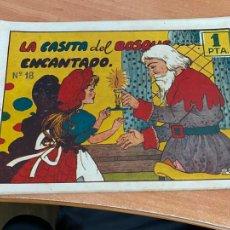 Tebeos: CUADERNOS SELECTOS Nº 18 LA CASITA DEL BOSQUE ENCANTADO (ORIGINAL CISNE GERPLA CLIPER) (COIB204). Lote 274606613