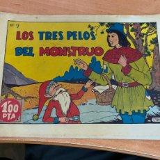 Tebeos: CUADERNOS SELECTOS Nº 9 LOS TRES PELOS DEL MONSTRUO (ORIGINAL CISNE GERPLA CLIPER) (COIB204). Lote 274607333