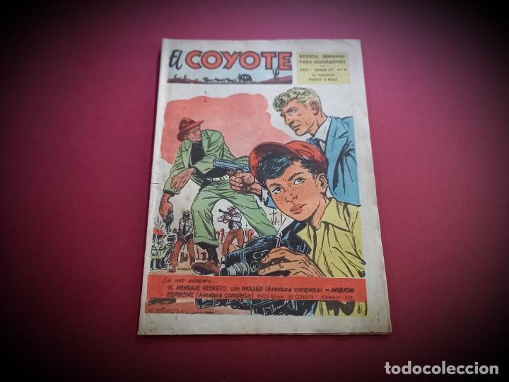 EL COYOTE Nº 4. 2ª ÉPOCA. CLIPER 1954 ( C.B.) (Tebeos y Comics - Cliper - El Coyote)