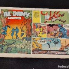 Tebeos: AL DANY / 11 / EN LA SELVA NEGRA / DOBLEZ POSTERIOR / VER FOTOS.. Lote 281929768