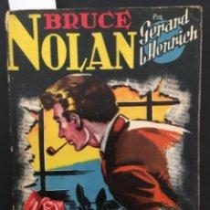 BDs: BRUCE NOLAN, TRES PETALOS DE ROSA, GERARD HENRICH, EDICIONES CLIPER, NUMERO 12. Lote 284270493