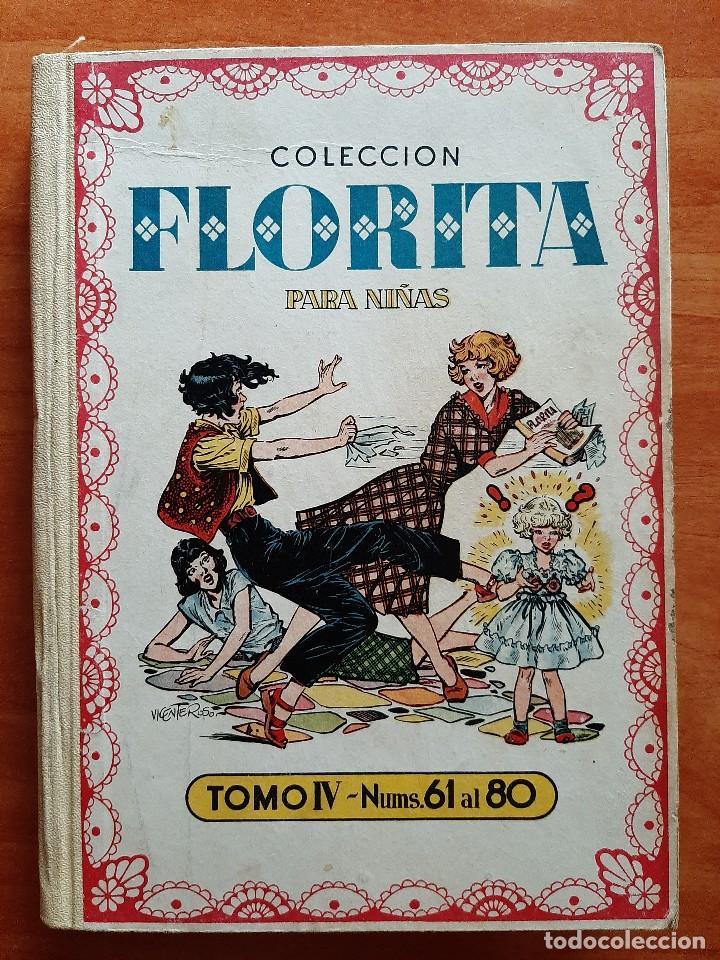 FLORITA : TOMO IV - EJEMPLARES DEL Nº 61 AL Nº 80 (Tebeos y Comics - Cliper - Florita)