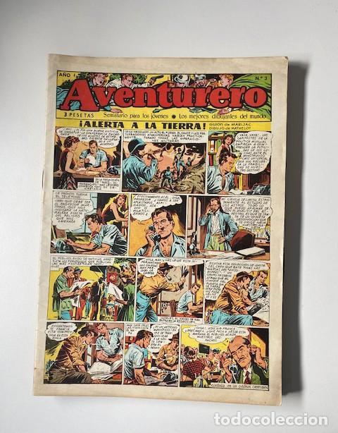 AVENTURERO. CLIPER, 1953. LOTE DE 11 EJEMPLARES (Tebeos y Comics - Cliper - Aventurero)