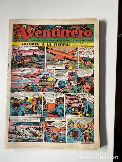 Tebeos: AVENTURERO. CLIPER, 1953. LOTE DE 11 EJEMPLARES - Foto 2 - 286776608