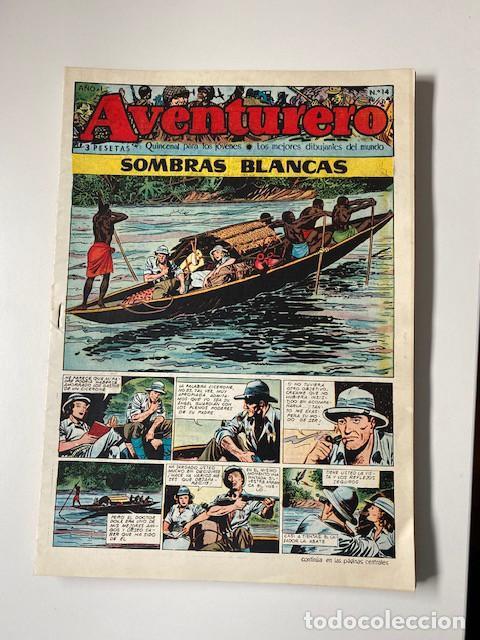 Tebeos: AVENTURERO. CLIPER, 1953. LOTE DE 11 EJEMPLARES - Foto 5 - 286776608