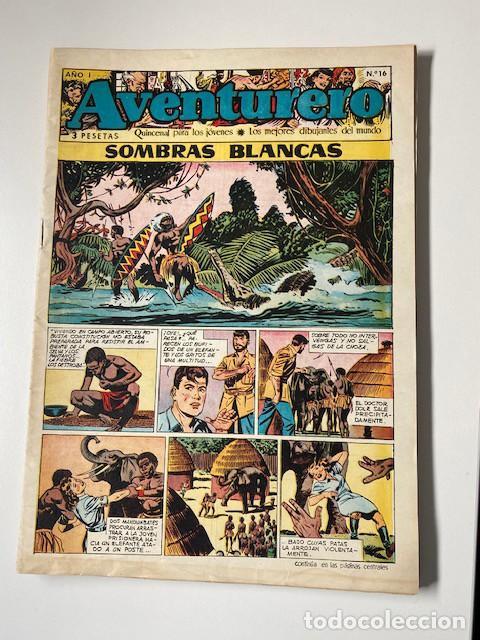 Tebeos: AVENTURERO. CLIPER, 1953. LOTE DE 11 EJEMPLARES - Foto 6 - 286776608