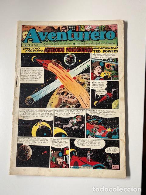 Tebeos: AVENTURERO. CLIPER, 1953. LOTE DE 11 EJEMPLARES - Foto 8 - 286776608