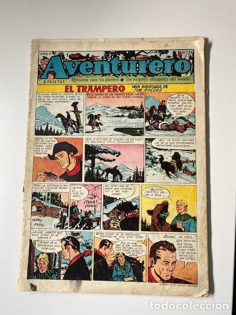 Tebeos: AVENTURERO. CLIPER, 1953. LOTE DE 11 EJEMPLARES - Foto 9 - 286776608