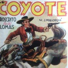 Tebeos: EL COYOTE EDICIONES CLIPER Nº 101 PRIMERA EDICION MARZO 1950. Lote 288232138