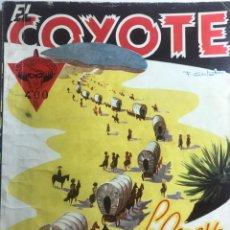 Tebeos: EL COYOTE EDICIONES CLIPER Nº 62 PRIMERA EDICION MARZO 1948. Lote 288232228