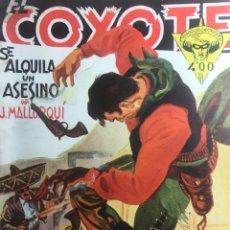 Tebeos: EL COYOTE EDICIONES CLIPER Nº 88 PRIMERA EDICION AGOSTO 1949. Lote 288232318