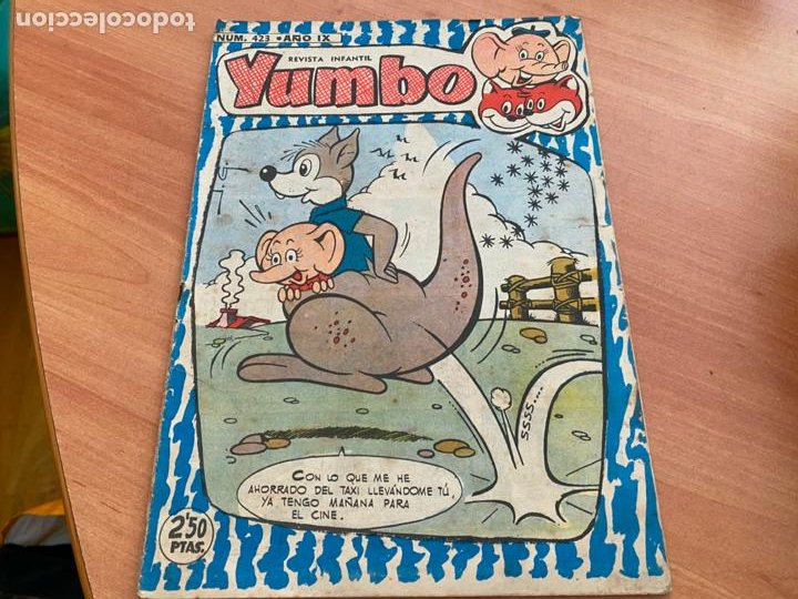 YUMBO Nº 423 (ORIGINAL EDITORIAL CLIPER) (COIB207) (Tebeos y Comics - Cliper - Yumbo)