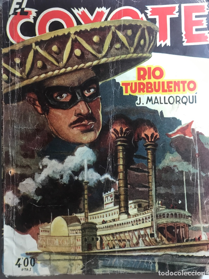 EL COYOTE EDICIONES CLÍPER Nº 54 PRIMERA EDICIÓN ABRIL 1948 (Tebeos y Comics - Cliper - El Coyote)
