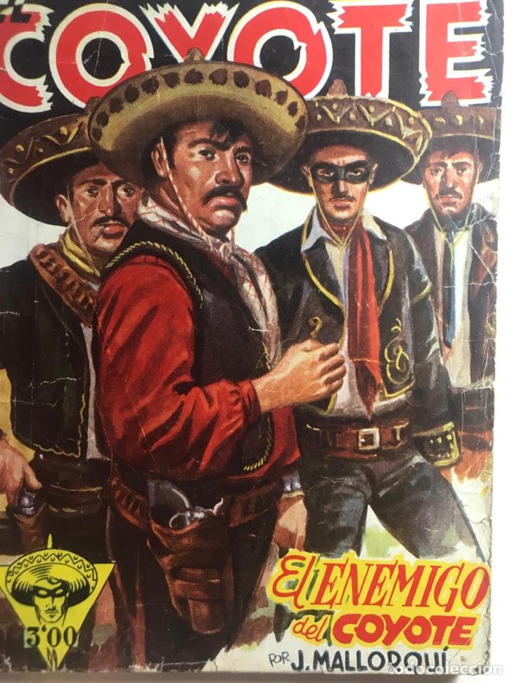 EL COYOTE EDICIONES CLÍPER Nº 37 PRIMERA EDICIÓN NOVIEMBRE 1946 (Tebeos y Comics - Cliper - El Coyote)