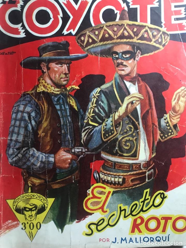 EL COYOTE EDICIONES CLIPER Nº 42 PRIMERA EDICION FEBRERO 1947 (Tebeos y Comics - Cliper - El Coyote)