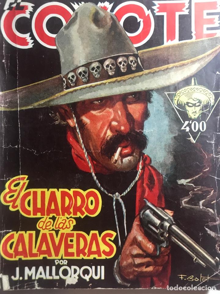 EL COYOTE EDICIONES CLIPER Nº 60 PRIMERA EDICION FEBRERO 1948 (Tebeos y Comics - Cliper - El Coyote)