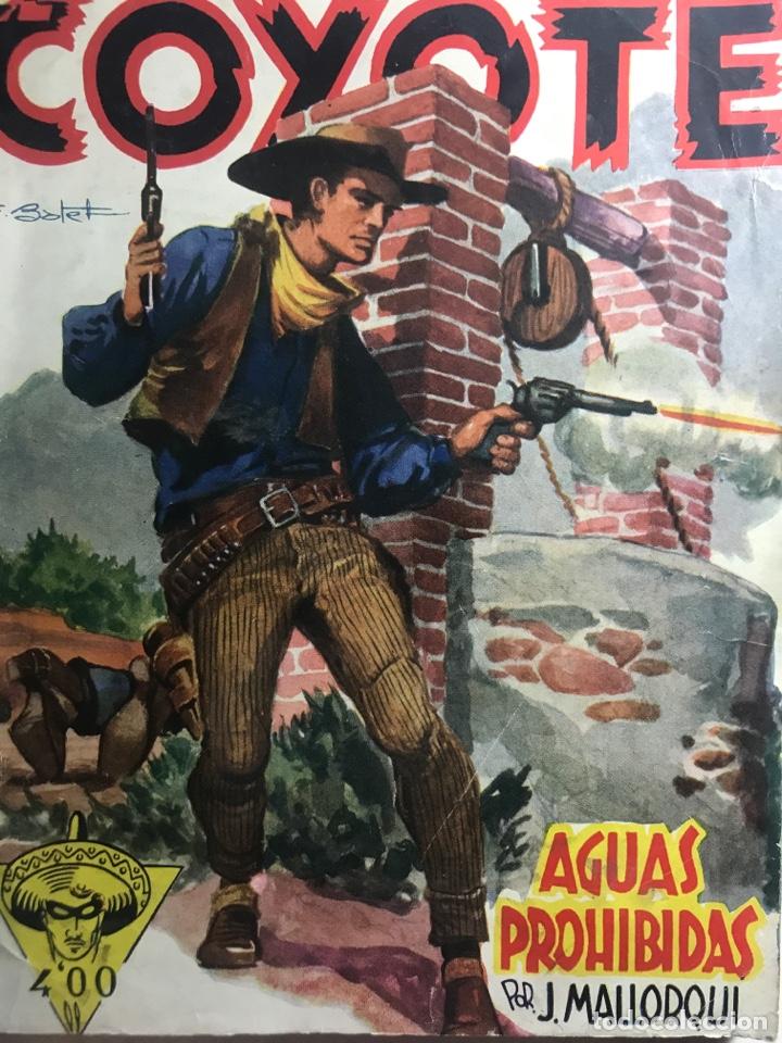 EL COYOTE EDICIONES CLIPER Nº 112 PRIMERA EDICION SEPTIEMBRE 1950 (Tebeos y Comics - Cliper - El Coyote)