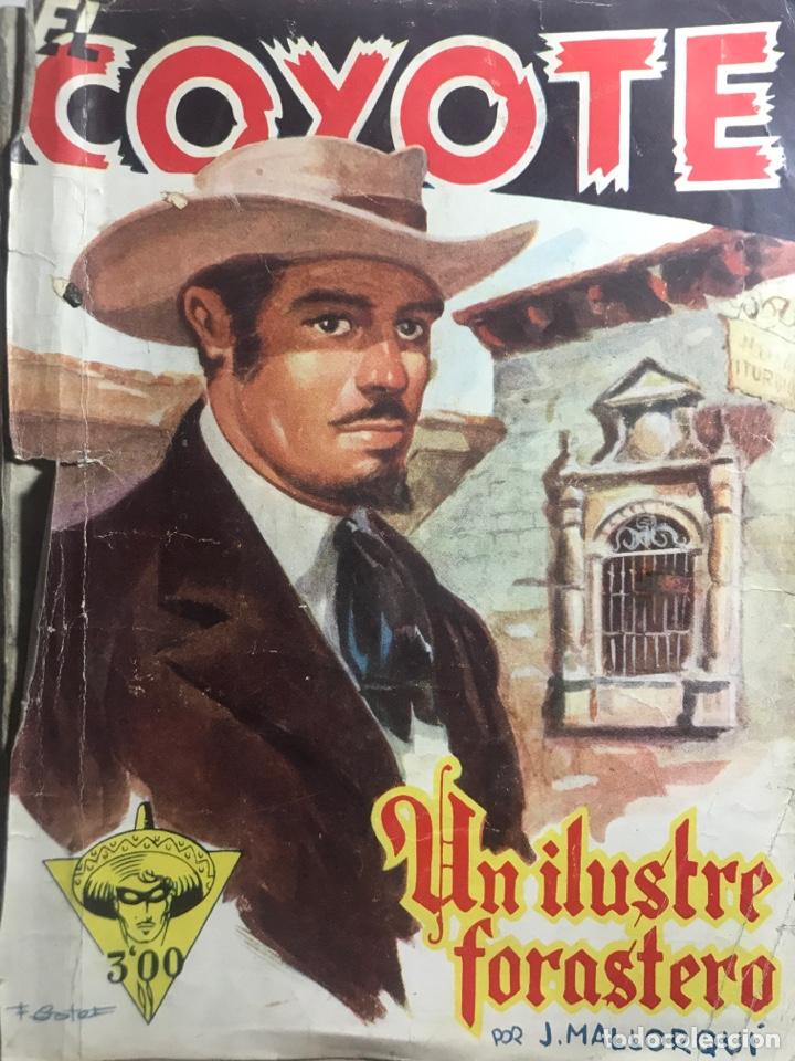 EL COYOTE EDICIONES CLIPER Nº 40 PRIMERA EDICION FEBRERO 1947 (Tebeos y Comics - Cliper - El Coyote)