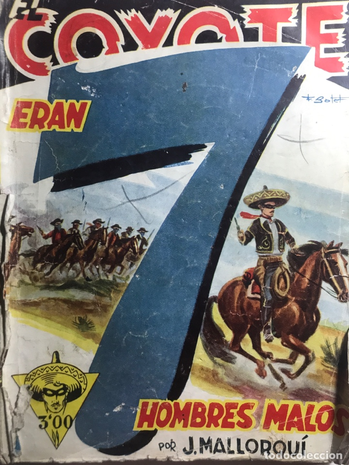 EL COYOTE EDICIONES CLIPER Nº 39 PRIMERA EDICION ENERO 1947 (Tebeos y Comics - Cliper - El Coyote)