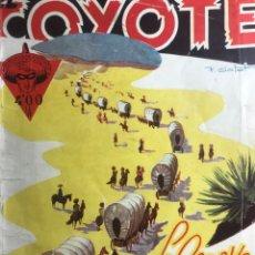 Tebeos: EL COYOTE EDICIONES CLIPER Nº 62 PRIMERA EDICION MARZO 1948. Lote 288569418