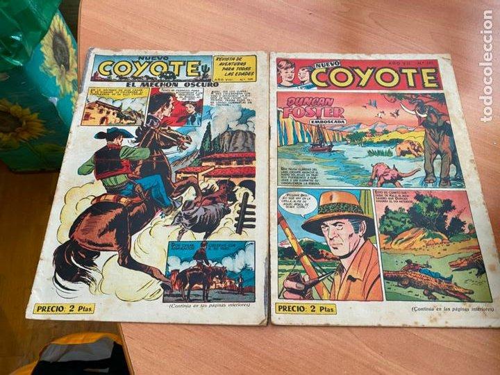 EL NUEVO COYOTE LOTE Nº 169 Y 181 (ORIGINAL CLIPER) (COIB207) (Tebeos y Comics - Cliper - El Coyote)