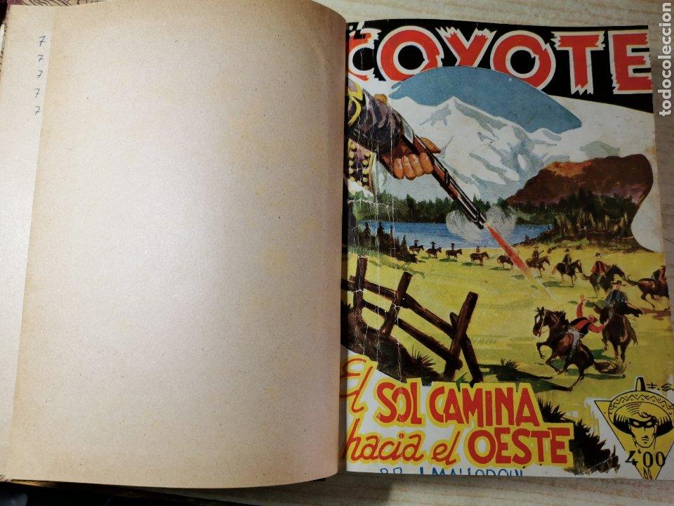 EL COYOTE NUMEROS 71, 72, 73, 74 Y 75 EN UN VOLUMEN - ED. CLIPER 1948 - 1ª EDICIÓN (Tebeos y Comics - Cliper - El Coyote)