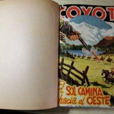 Tebeos: EL COYOTE NUMEROS 71, 72, 73, 74 Y 75 EN UN VOLUMEN - ED. CLIPER 1948 - 1ª EDICIÓN. Lote 288678013