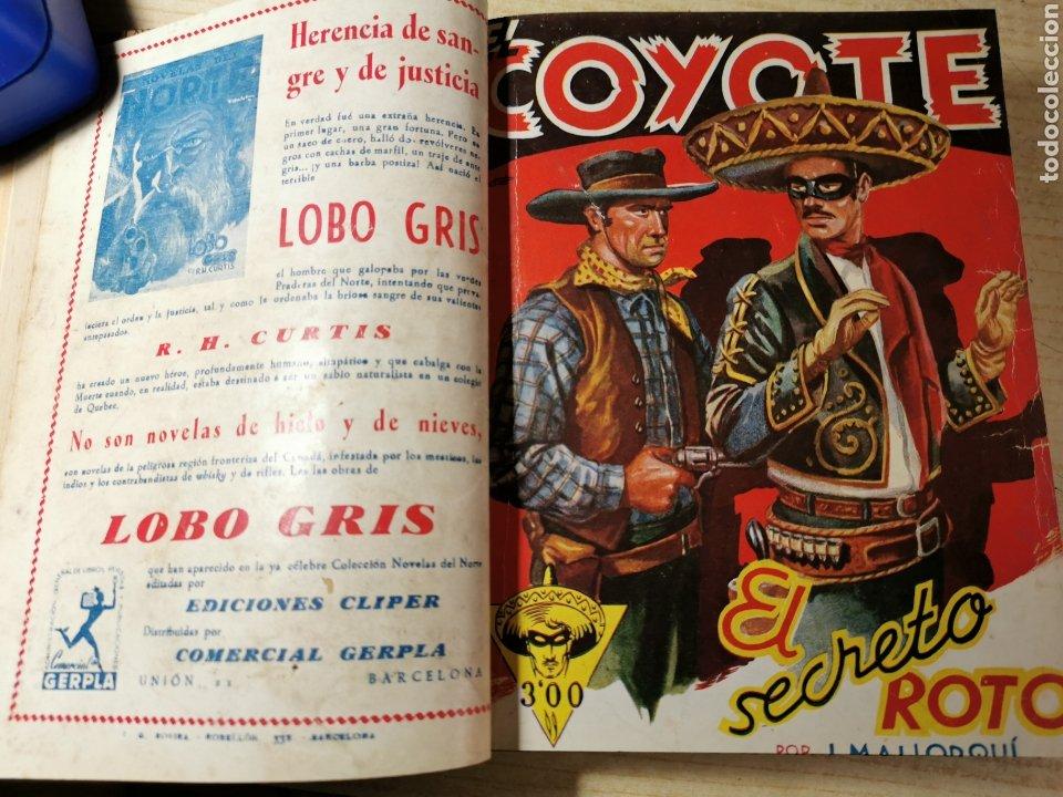 Tebeos: EL COYOTE NUMEROS 41, 42, 43, 44 Y 45 EN UN VOLUMEN - ED. CLIPER 1947 - 1ª EDICIÓN - Foto 2 - 288679488