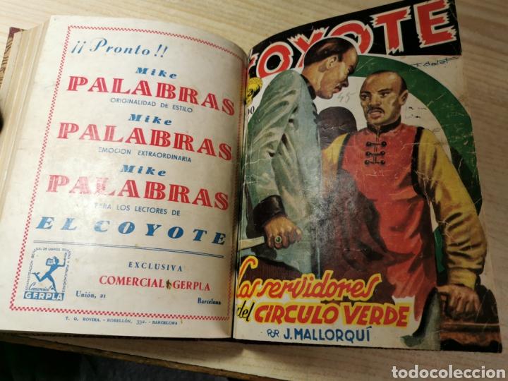 Tebeos: EL COYOTE NUMEROS 41, 42, 43, 44 Y 45 EN UN VOLUMEN - ED. CLIPER 1947 - 1ª EDICIÓN - Foto 5 - 288679488