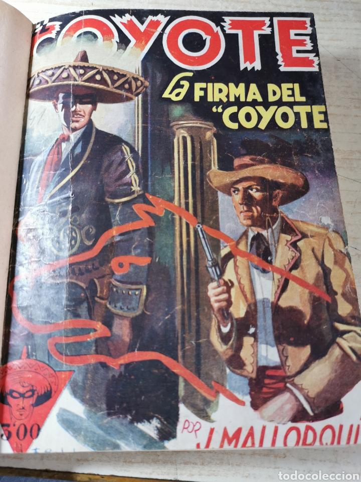 EL COYOTE NUMEROS 41, 42, 43, 44 Y 45 EN UN VOLUMEN - ED. CLIPER 1947 - 1ª EDICIÓN (Tebeos y Comics - Cliper - El Coyote)