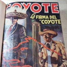 Tebeos: EL COYOTE NUMEROS 41, 42, 43, 44 Y 45 EN UN VOLUMEN - ED. CLIPER 1947 - 1ª EDICIÓN. Lote 288679488