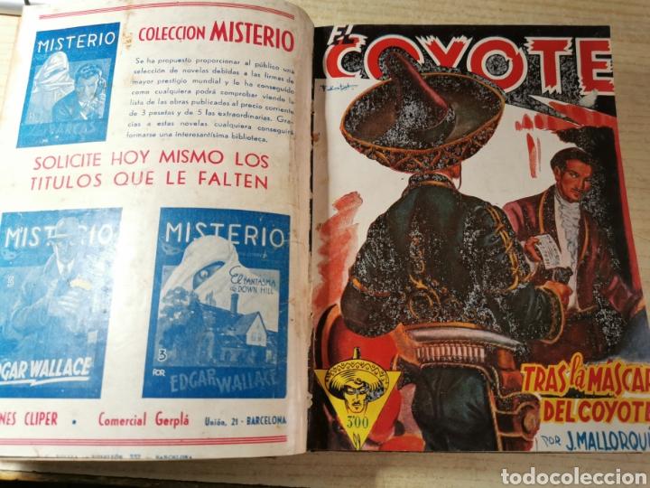 Tebeos: EL COYOTE NUMEROS 4 extraordinario, 17, 18, 19 Y 20 EN UN VOLUMEN - ED. CLIPER años 40 - 1ª EDICIÓN - Foto 3 - 288680613