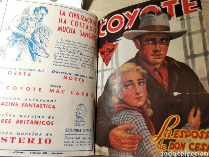 Tebeos: EL COYOTE NUMEROS 4 extraordinario, 17, 18, 19 Y 20 EN UN VOLUMEN - ED. CLIPER años 40 - 1ª EDICIÓN - Foto 5 - 288680613