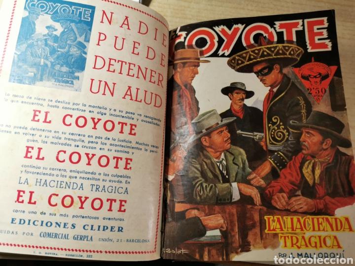 Tebeos: EL COYOTE NUMEROS 4 extraordinario, 17, 18, 19 Y 20 EN UN VOLUMEN - ED. CLIPER años 40 - 1ª EDICIÓN - Foto 6 - 288680613