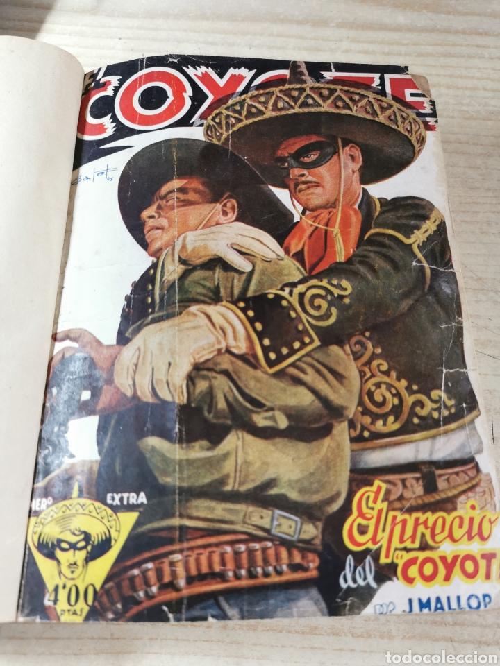EL COYOTE NUMEROS 4 EXTRAORDINARIO, 17, 18, 19 Y 20 EN UN VOLUMEN - ED. CLIPER AÑOS 40 - 1ª EDICIÓN (Tebeos y Comics - Cliper - El Coyote)