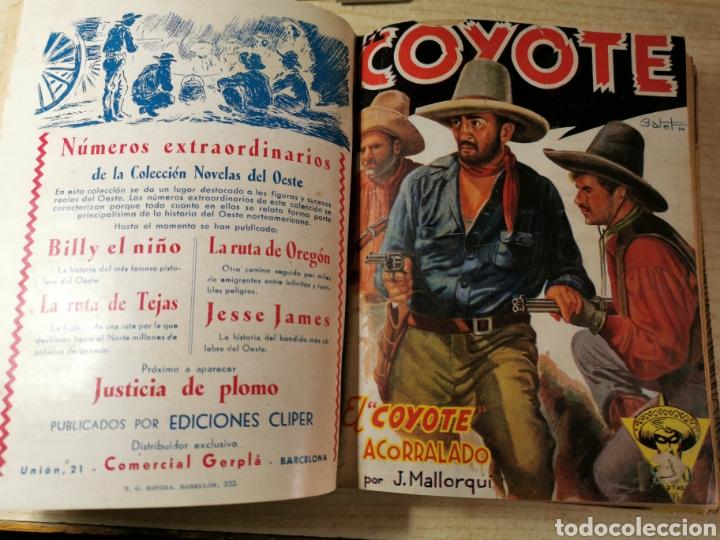 Tebeos: EL COYOTE NUMEROS 1 extraordinario, 5, 6, 7 Y 8 EN UN VOLUMEN - ED. CLIPER años 40 - 1ª EDICIÓN - Foto 2 - 288682303