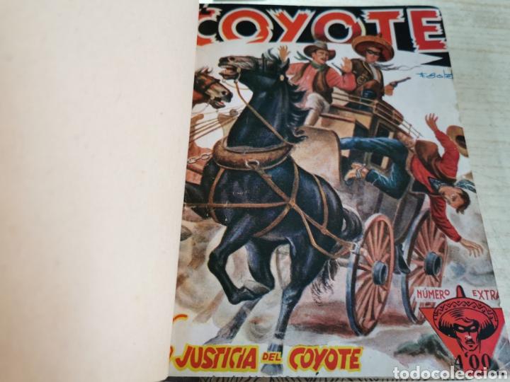 EL COYOTE NUMEROS 1 EXTRAORDINARIO, 5, 6, 7 Y 8 EN UN VOLUMEN - ED. CLIPER AÑOS 40 - 1ª EDICIÓN (Tebeos y Comics - Cliper - El Coyote)