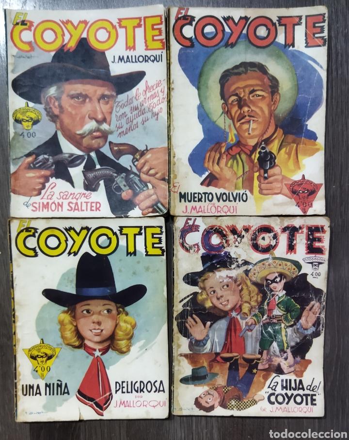Tebeos: Lote de 26 EL COYOYE y 2 Novelas del Oeste .por J .Mallorqui - Foto 4 - 289011613