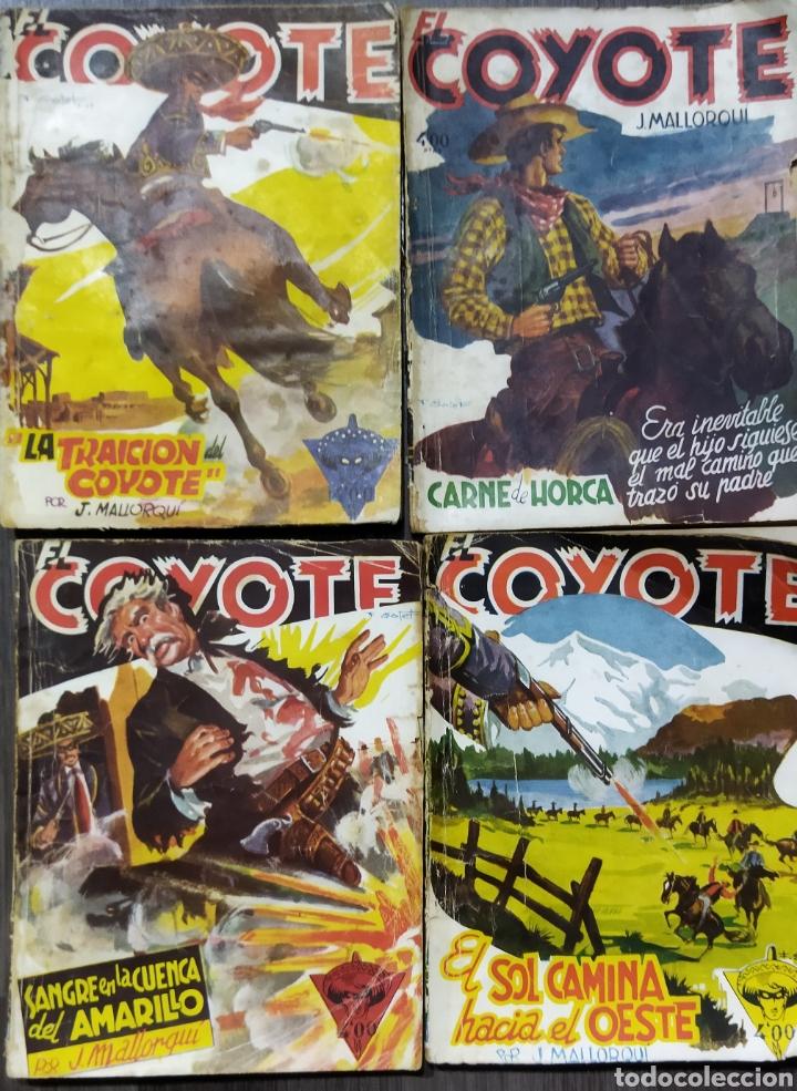 Tebeos: Lote de 26 EL COYOYE y 2 Novelas del Oeste .por J .Mallorqui - Foto 8 - 289011613