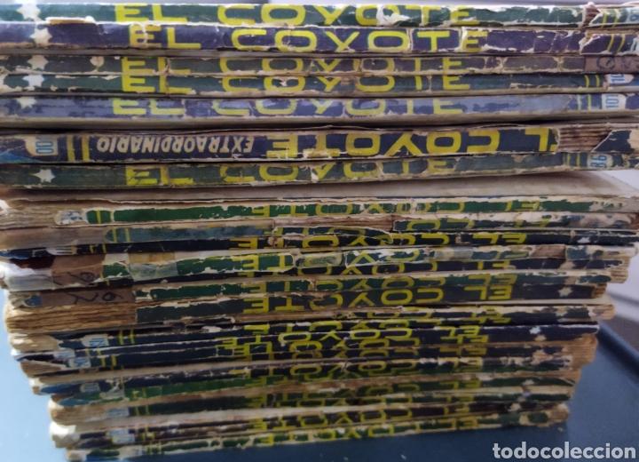 Tebeos: Lote de 26 EL COYOYE y 2 Novelas del Oeste .por J .Mallorqui - Foto 11 - 289011613