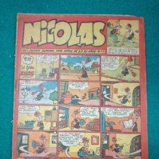 Tebeos: NICOLAS Nº 112. CLIPER.. Lote 290638388