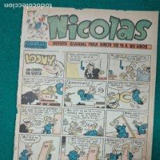 Tebeos: NICOLAS Nº 176. CLIPER.. Lote 290638938