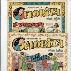 Livros de Banda Desenhada: * NARRACIONES DE FLORITA PARA NIÑAS * EDICIONES CLIPER * LOTE DE Nº 52, 60, RESERVADOS * *. Lote 294130193