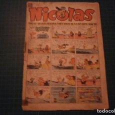 Tebeos: NICOLAS. N°158. CLIPER. CASTIGADO. (S-D). Lote 294980738