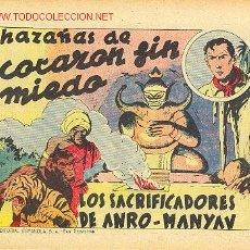 Tebeos: ESPAÑOLA (MONOGRÁFICOS) - EDITORIAL ESPAÑOLA 1939 - COMPLETA 14 EJEMPLARES. Lote 26599949