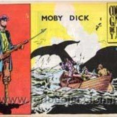 Tebeos: MOBY DICK-COLECCION GALAOR -AÑO 1965 -COLECCIÓN COMPLETA MUY RARA ARMAR ISA CAJA 180. Lote 12789718