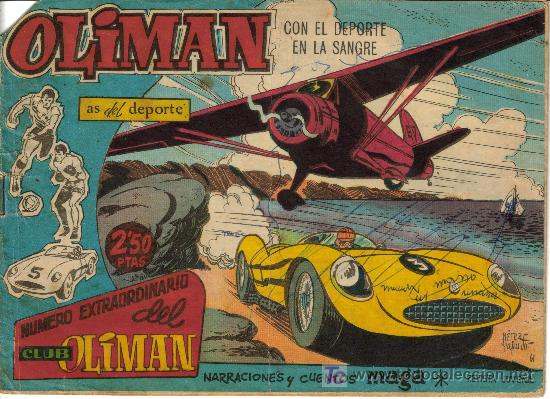 OLIMAN AS DEL DEPORTE (MAGA) ORIGINALES 1961-1963 LOTE (Tebeos y Comics - Tebeos Colecciones y Lotes Avanzados)